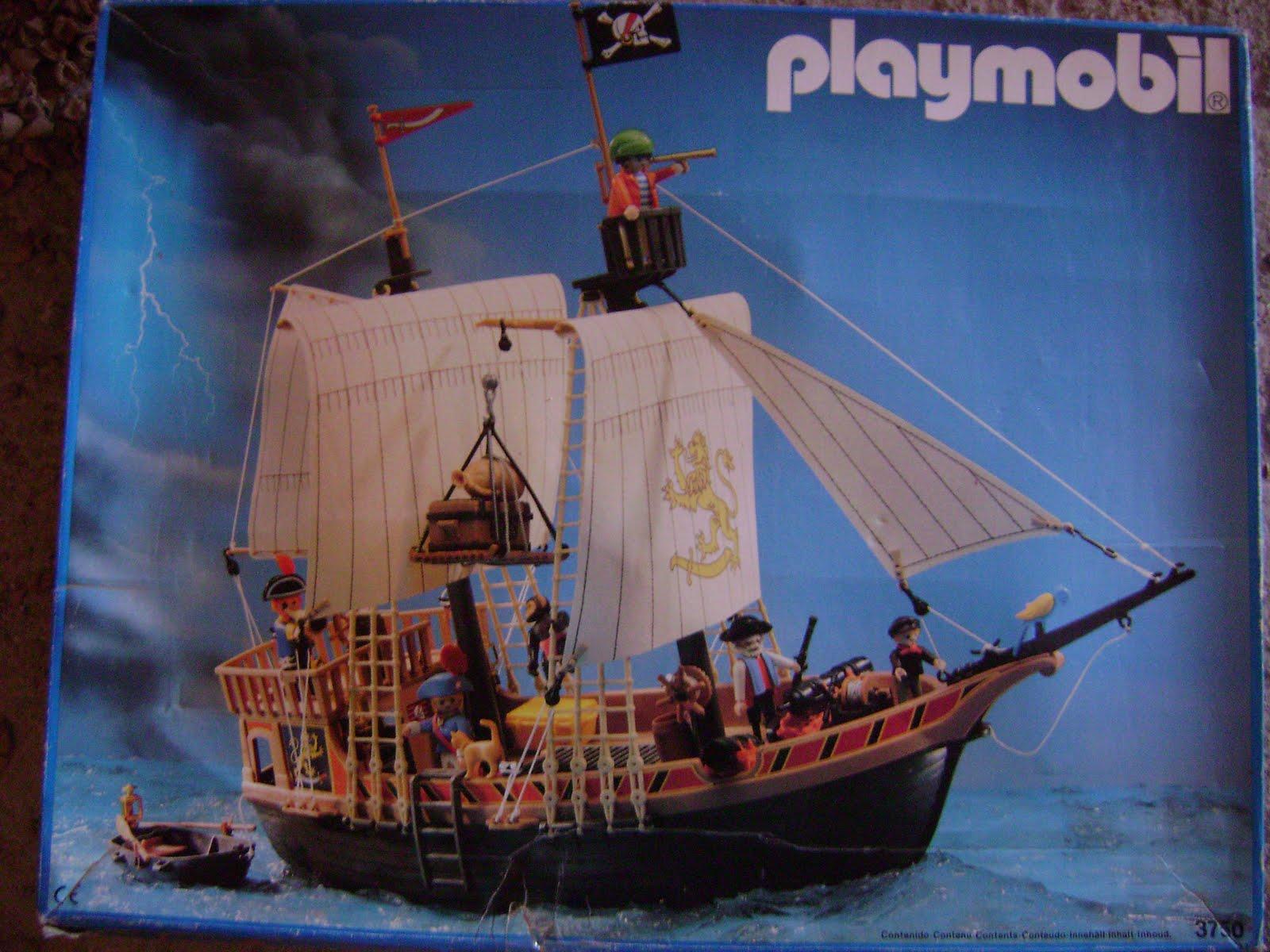 Mis playmobil palabras contra el muro for Barco pirata playmobil