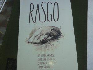 Portada del libro Rasgo de Carlos Serrano