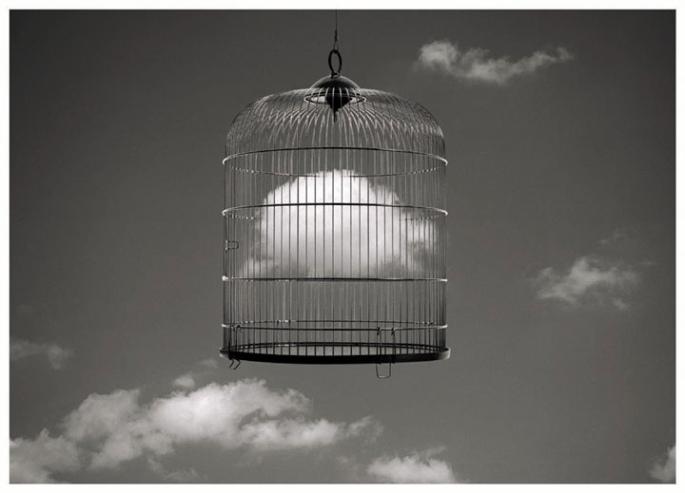 Nube en jaula by Nfeli777 http://www.flickr.com/photos/nfelicite/