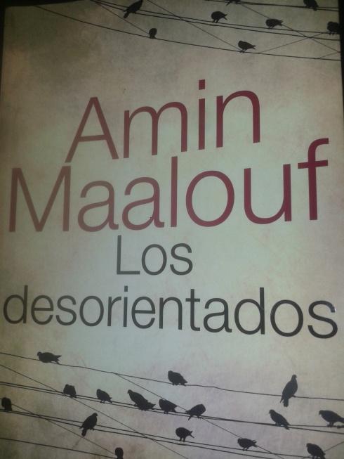 Portada del libro los desorientados de Amin Maalouf