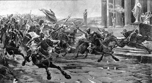 Invasión bárbaros